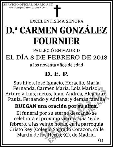 Carmen González Fournier